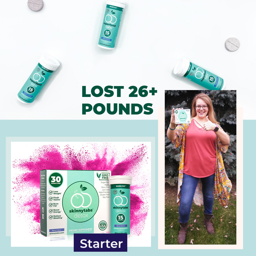 Real customer results with Superfood Tabs