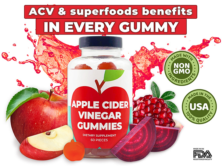 Apple Cider Vinegar ACV Gummies