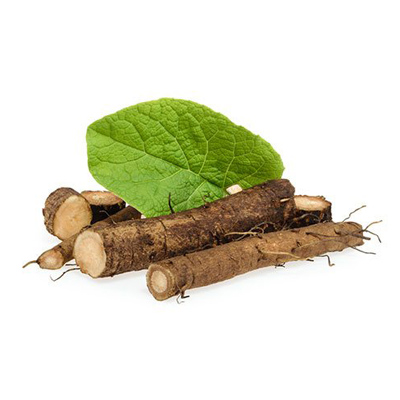 Burdock Root is an ingredient in Superfood Tabs