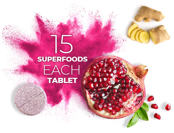 Superfood Tablets by  Superfood Tabs